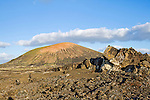 Volcanic landscape. Timanfaya National Park. Lanzarote, Canary Islands. Spain.