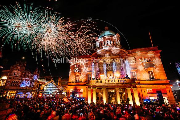 Hull City Centre Kingston Upon Hull East Yorkshire United Kingdom 27 November & Christmas Lights u0026 Fireworks Hull | Neil Holmes Photography Blog azcodes.com
