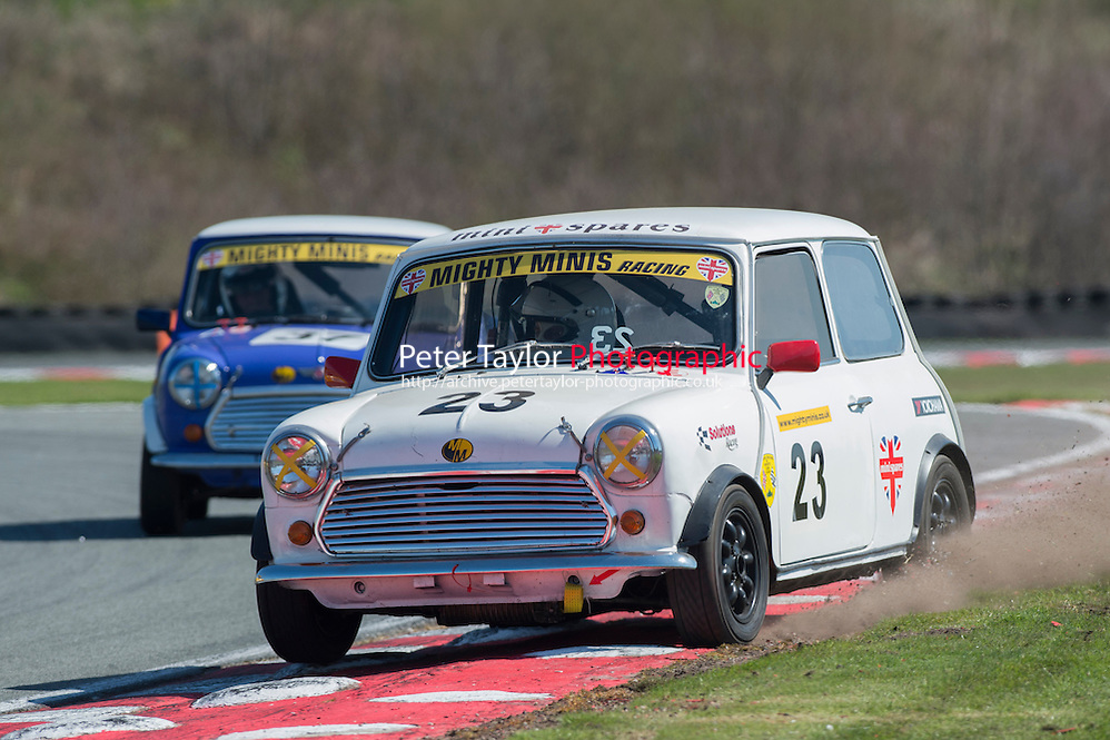 #23 Peter Bonas, Mighty Mini during BRSCC Mighty Minis