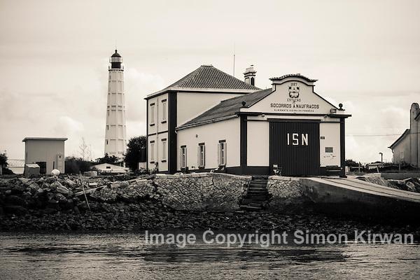 Lighthouse & Lifeboat Station, Ilha do Farol, Algarve, Portugal - Photo By Simon Kirwan