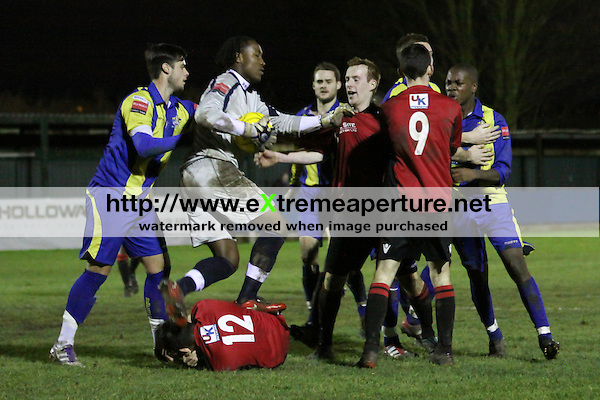 Redbridge FC v Romford Ryman Football League Division One North 31 Dec 2011 (David Horn/Dave Horn, EAP)