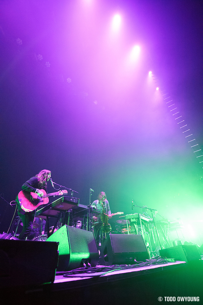 Other Lives performing in support of Radiohead at the Scottrade Center in St. Louis, Missouri on March 9, 2012. (Todd Owyoung)