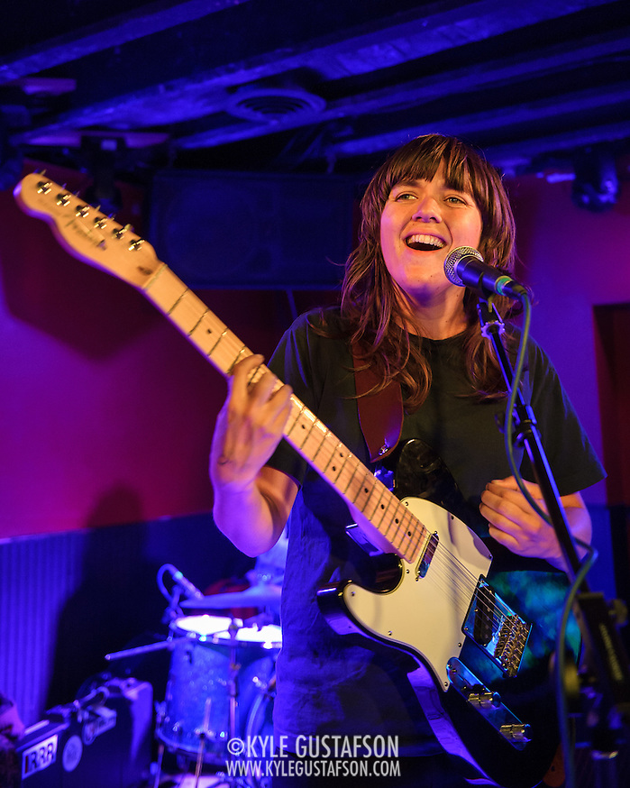 WASHINGTON, DC - February 19th, 2014 - Australian singer-songwriter Courtney Barnett performs at DC9 in Washington, D.C. Barnett garnered critical buzz from Rolling Stone and Pitchfork after releasing a string of E.P.'s over the last two years. (Photo by Kyle Gustafson / For The Washington Post) (Kyle Gustafson/For The Washington Post)