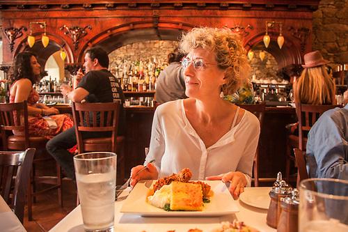 Mitzi at Market Cafe in Saint Helena, CA (Clark James Mishler)
