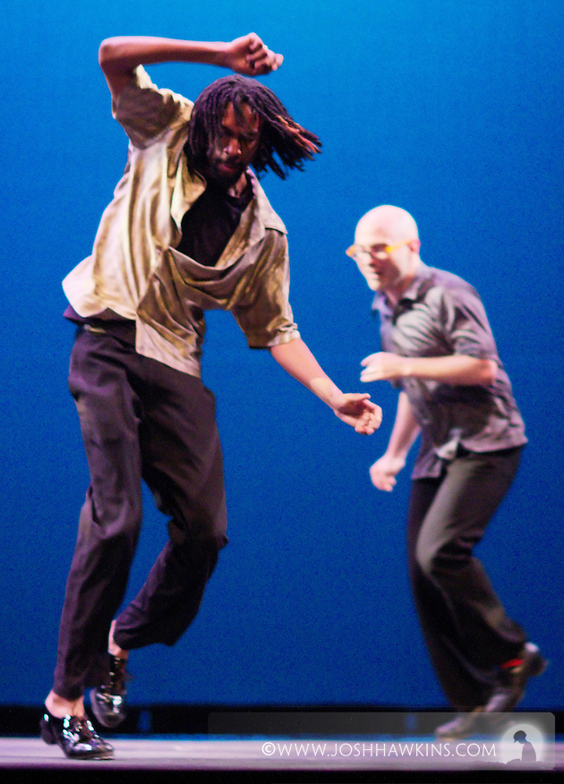 Chicago Tap Theatre - Tap!(ish).Can't Take My Eyes Off of You.Dancer, Phil Brooks and Mark Yonally (Josh Hawkins)