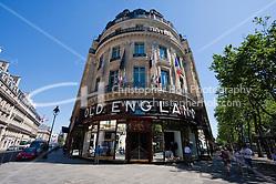 old england shop in Paris France in May 2008 (Christopher Holt LTD - LondonUK, Christopher Holt LTD/Image by Christopher Holt - www.christopherholt.com)