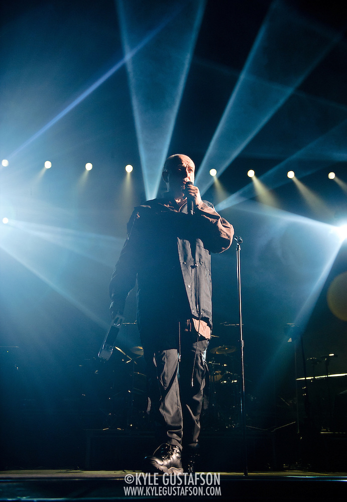 FAIRFAX, VA - October 14th, 2012 - Peter Gabriel performs at the Patriot Center in Fairfax, VA as part of his Back To Front Tour, celebrating the 25th anniversary of his landmark album, So. (Photo by Kyle Gustafson/For The Washington Post) (Kyle Gustafson/For The Washington Post)