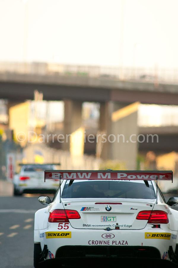 #55 BMW Team RLL BMW E92 M3: Jorg Muller, Bill Auberlen (Darren Pierson)