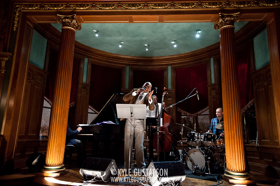 Ertegun Jazz Event, February 2013 (Photo by Kyle Gustafson)