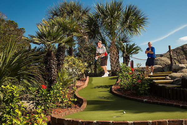 Mini Golf: USPMGA Masters National Championship day three Hawaiian Rumble Golf Course/North Myrtle Beach, SC, USA 10/17/2015 X159981 TK3 Credit: Darren Carroll (Darren Carroll/Sports Illustrated)