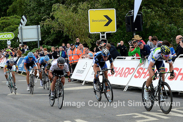 Tour of Britain Stage 2: Leigh Howard Outsprints Mark Cavendish - Photo By Simon Kirwan