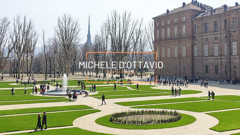 Torino, marzo 2016: sono nuovamente visitabili i Giardini Reali., gli spazi verdi che abbracciano i Musei Reali. La riapertura interessa un'area di cinque ettari dei sette complessivi. (Michele D'Ottavio / Buenavista)