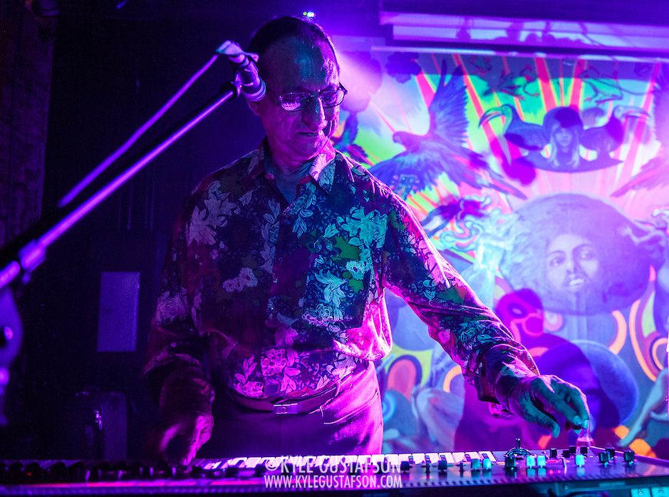 WASHINGTON, DC - August 7th, 2014 - Indian electronic music pioneer Charanjit Singh performs songs from his seminal album, Ten Ragas to a Disco Beat, at Tropicalia in Washington, D.C. (Photo by Kyle Gustafson / For The Washington Post) (Kyle Gustafson/For The Washington Post)