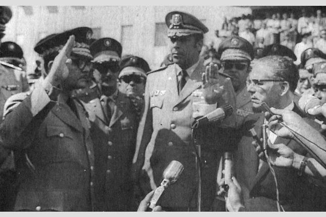 Joaquin Balaguer juramentó a Ney Nivar Seijas como jefe de la Policía