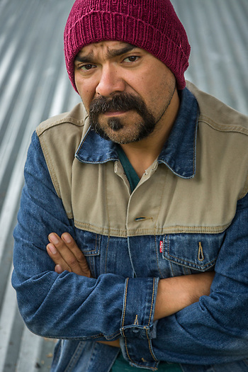 Visual story teller, film maker and teacher Javier Barboza at the Sitka Fine Arts Camp, Sitka, Alaska (Clark James Mishler)