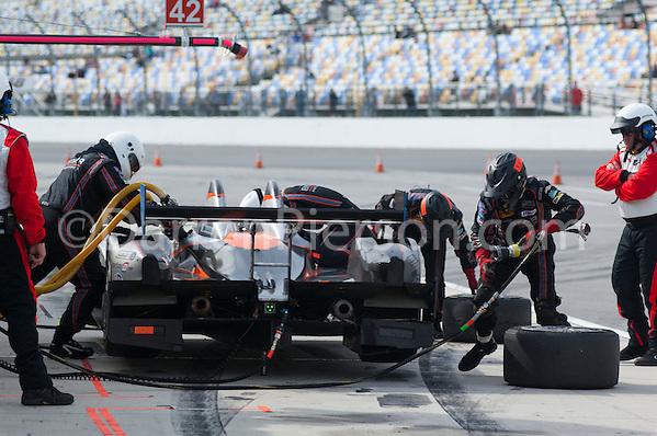 #25 8Star Motorsports ORECA FLM09: Enzo Potolicchio, Tom Kimber-Smith, Mike Marsal (Darren Pierson)