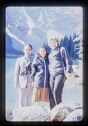 1986, Lake Louise, by Peter J Noakes.
