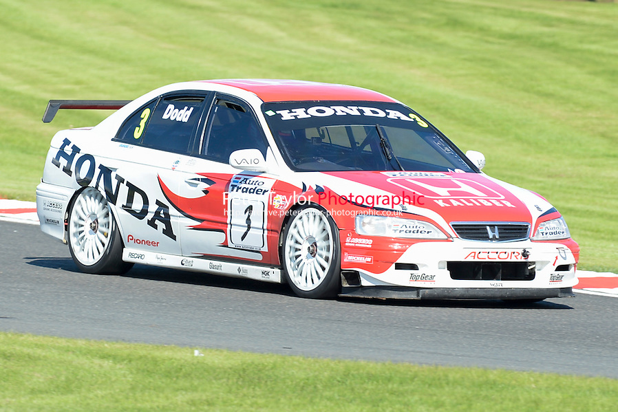 #3 James Dodd - Honda Accord during HSCC Super Touring Car Championship race one at Oulton Park, Little Budworth, Cheshire, United Kingdom. June 07 2014. World Copyright Peter Taylor/PSP. Copy of publication required for printed pictures. Every used picture is fee-liable. http://archive.petertaylor-photographic.co.uk (Peter Taylor/PSP)