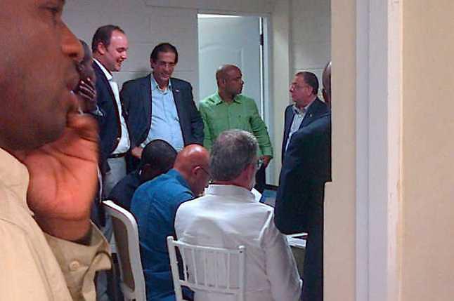 Tranque de último momento en la reunión entre dominicanos y haitianos