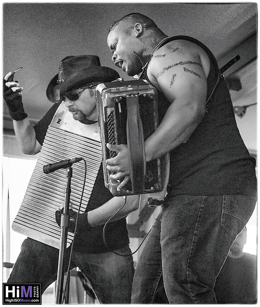 Dwayne Dopsie and the Zydeco Hellraisers at Jazz Fest 2016 in New Orleans, LA. (High ISO Music, LLC)