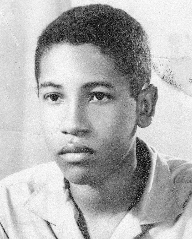 El autor de esta columna, Ramón Arturo Guerrero, en 1964