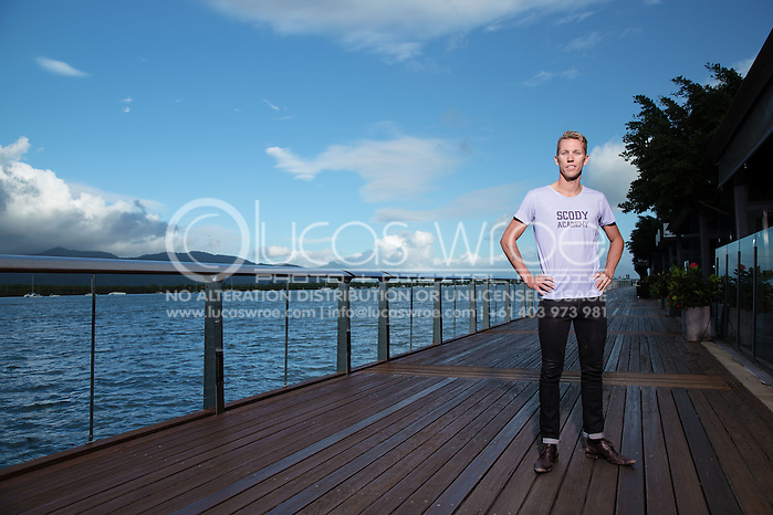 Tim Van Berkel (AUS), June 5, 2014 - TRIATHLON : SCODY ATHLETES / Cairns Airport Adventure Festival, Caffiend and Harbour, Cairns, Queensland, Australia. Credit: Lucas Wroe (Lucas Wroe)