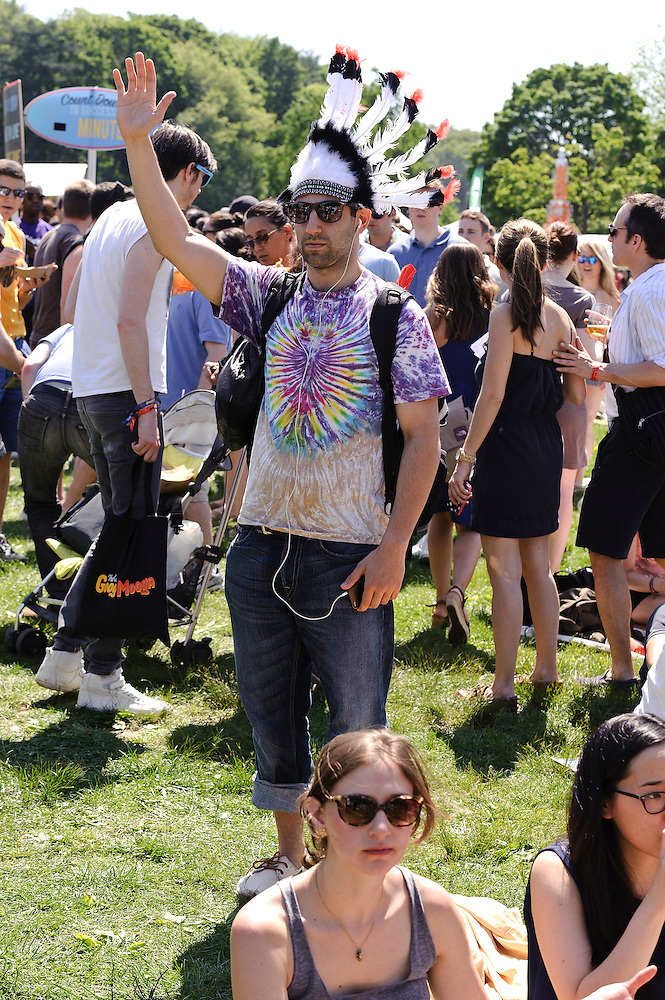 Photos of general atmosphere at The Great GoogaMooga festival at Prospect Park in Brooklyn, NY. May 19, 2012. Copyright © 2012 Matthew Eisman. All Rights Reserved. (Photo by Matthew Eisman/WireImage)