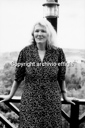 Angela Carter archivio effigie (archivio effigie)