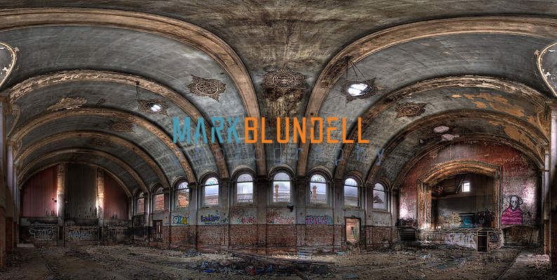 Hellingly Mental Asylum Main Hall (Mark Blundell)