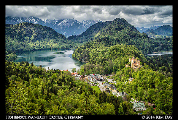 Hohenschwangaun Castle Germany - May 2014 (Kim Day)