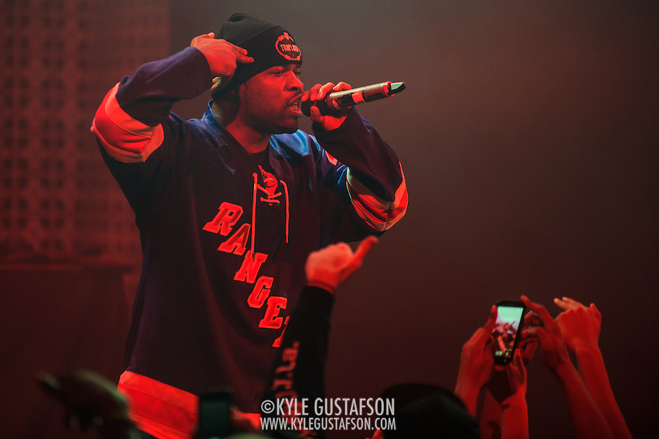 WASHINGTON, DC - December 5th, 2013 - A$AP Ferg performs at the Howard Theatre in Washington, D.C. Ferg is currently touring behind his debut album, Trap Lord, which was released in April. Over the summer he played a memorable set at the Trillectro festival at the Half Street Fairgrounds. (Photo by Kyle Gustafson / For The Washington Post) (Kyle Gustafson/For The Washington Post)