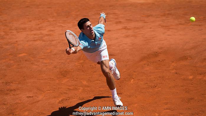NOVAK DJOKOVIC (SRB) Tennis - French Open 2014 -  Toland Garros - Paris -  ATP-WTA - ITF - 2014  - France  6th June 2014.  © AMN IMAGES (FREY/FREY- AMN Images)