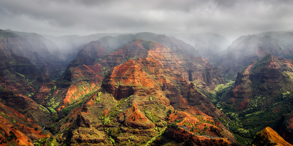 Waimea Canyon on Kaua'i - the Grand Canyon of the Pacific (Doug Oglesby)