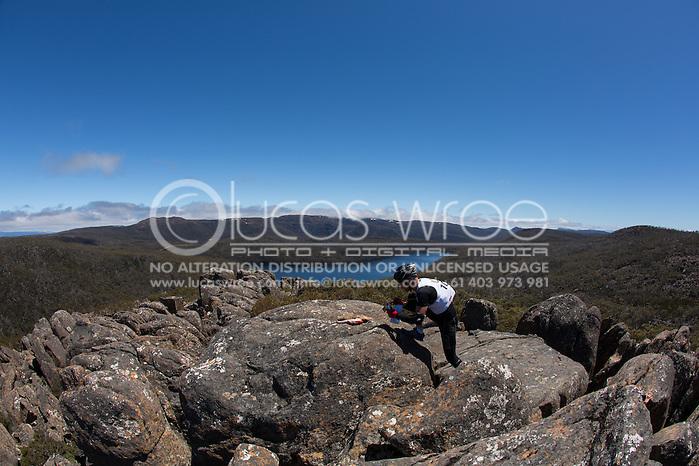 Team Xtech (Tim Robinson and Dean Hemburrow). Adventure Racing. Swisse Mark Webber Challenge 2013. Tasmania, Australia. 30/11/2013. Photo By Lucas Wroe (Lucas Wroe)