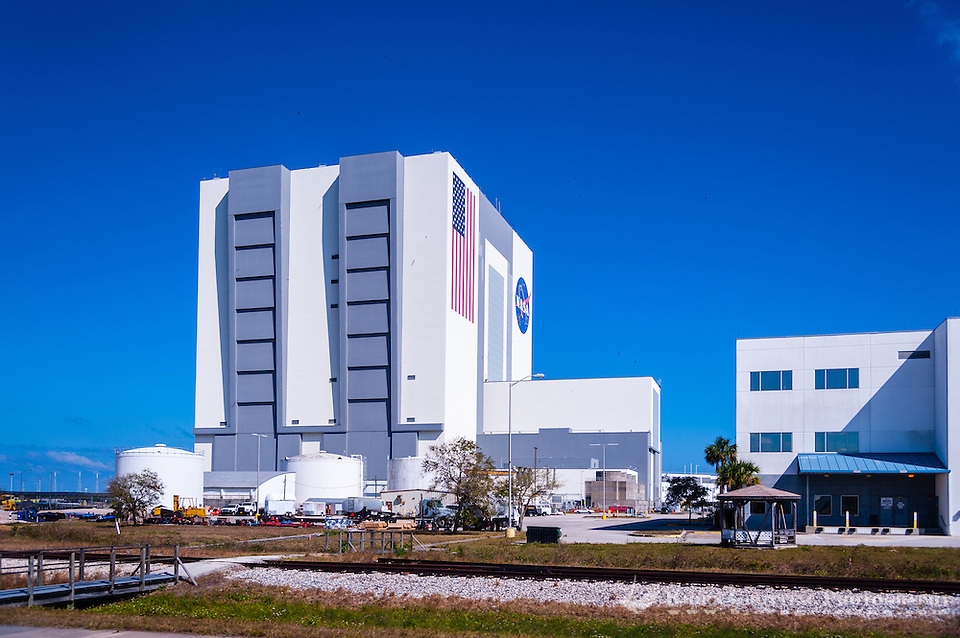 US, Florida. John F. Kennedy Space Center. Vehicle Assembly Building. (Photo Bjorn Grotting)