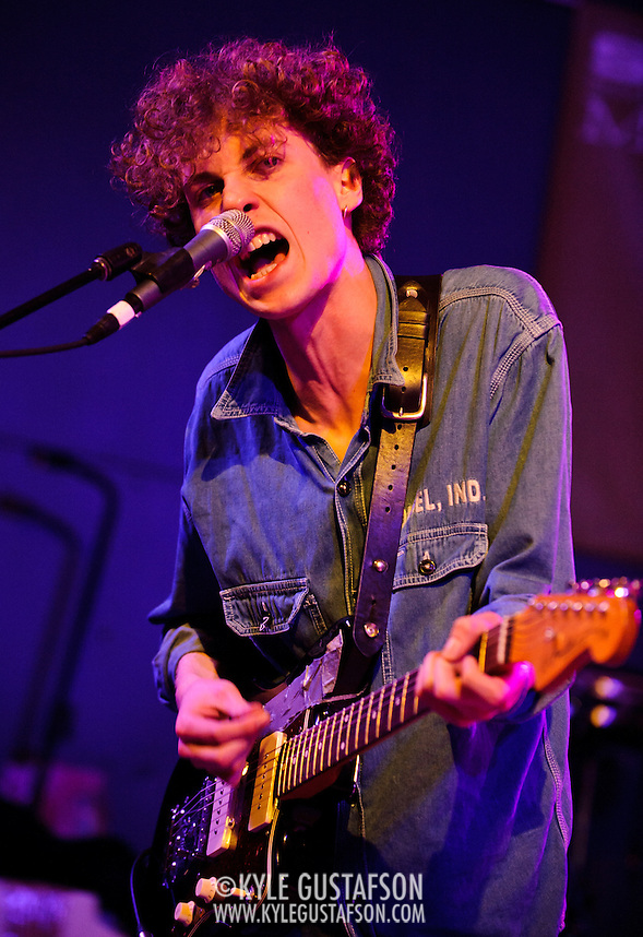 AUSTIN, TX - March 16th: British band Yuck perform at the NPR Music showcase at Stubb's as part of the 2011 South by Southwest Festival. (Photo by Kyle Gustafson) (Kyle Gustafson/For The Washington Post)