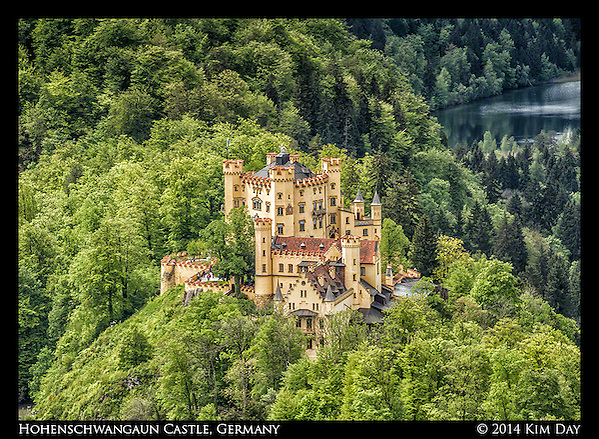 View of Hohenschwangaun Castle From Neuschwanstein Castle Germany May 2014 (Kim Day)