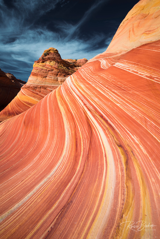 The Wave, Coyote Buttes, Paria-Vermilion Cliffs Wilderness, Arizona (© Russ Bishop/www.russbishop.com)