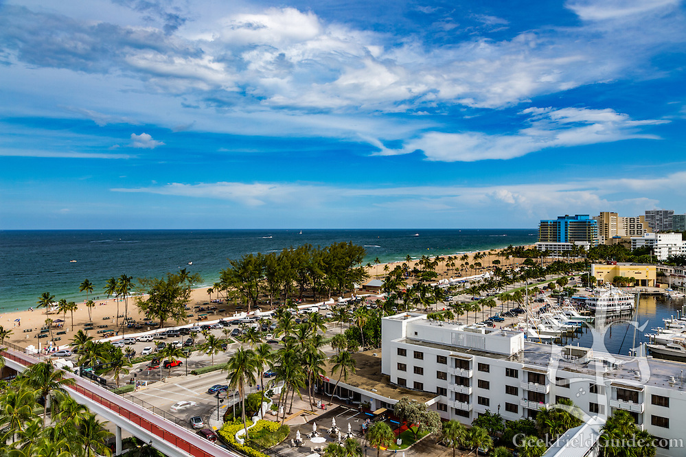 The view from the Bahia Mar hotel in Fort Lauderdale, Florida. (Warren Schultz)
