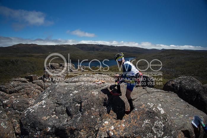 Team discovertasmania.com (Richard Ussher and Braden Currie). Adventure Racing. Swisse Mark Webber Challenge 2013. Tasmania, Australia. 30/11/2013. Photo By Lucas Wroe (Lucas Wroe)