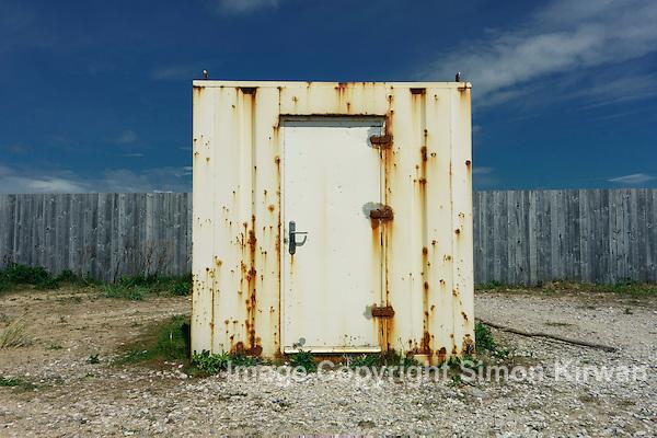 Storage Container, Ainsdale Beach - Photo By Simon Kirwan