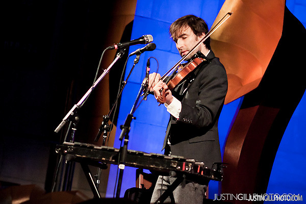 Andrew Bird concert at Fourth Presbyterian Church Chicago (Justin Gill)