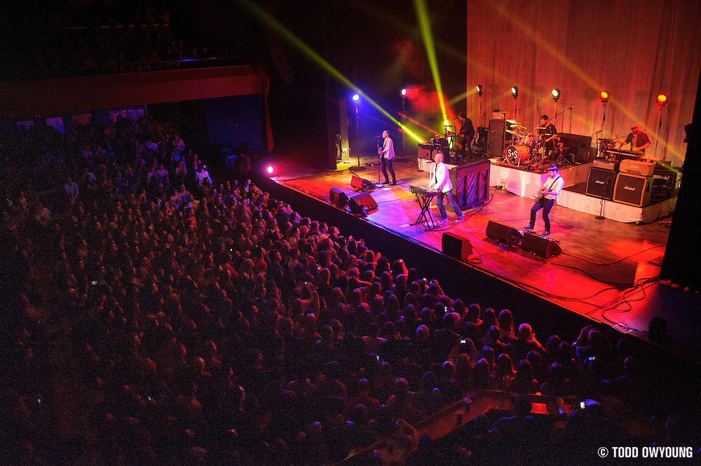 The Fray performing in concert at the Pageant in St. Louis on May 8, 2012. (Todd Owyoung)
