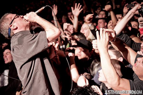 Descendents Milo Aukerman and Black Flag Live Concert Santa Monica Civic Auditorium Los Angeles (Justin Gill)
