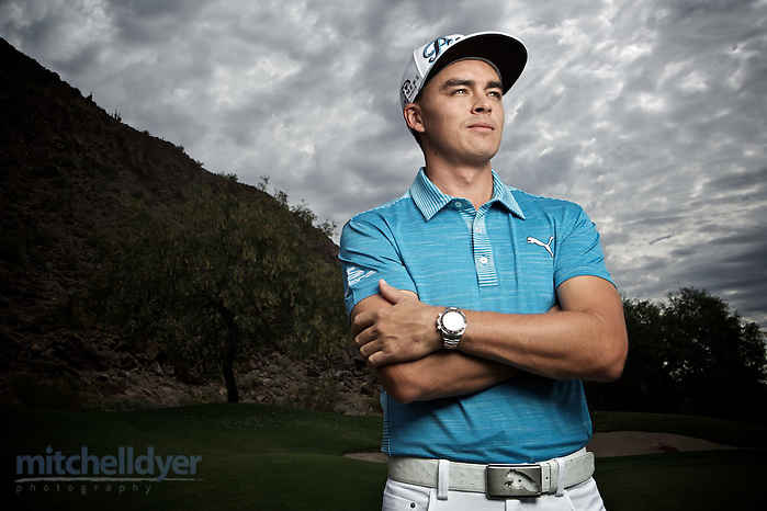 Ricky Fowler shot in Phoenix, AZ for Head Trainer. Photo by Craig Mitchelldyer www.craigmitchelldyer.com (Craig Mitchelldyer, Craig Mitchelldyer)
