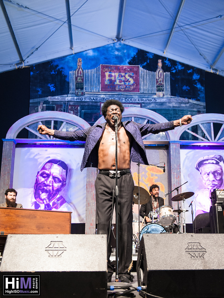 Charles Bradley performs at Jazz Fest 2014 in New Orleans, LA on Day 5. (HIGH ISO Music, LLC)