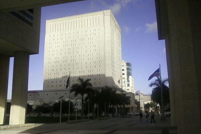 Cárcel en donde está recluída Fiordaliza Pichardo. Foto: Rose Mary Santana/Acento.com.do