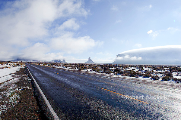 Grand Canyon and Monument Valley in the winter with snow (Bob Clark)