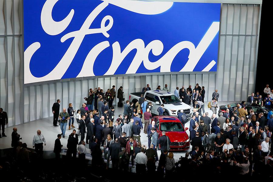 North American International Auto Show in Detroit, Monday, Jan. 11, 2016. (Rick Osentoski) (Yahoo Auto/Rick Osentoski)
