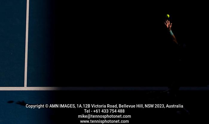 RAFAEL NADAL (ESP) Tennis - Australian Open - Grand Slam -  Melbourne Park -  2014 -  Melbourne - Australia  - 22nd January 2013.  © AMN IMAGES, 1A.12B Victoria Road, Bellevue Hill, NSW 2023, Australia Tel - +61 433 754 488 mike@tennisphotonet.com www.amnimages.com International Tennis Photo Agency - AMN Images (FREY - AMN IMAGES)